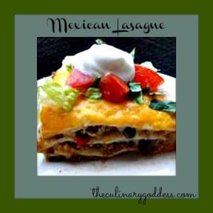 mexican lasagne