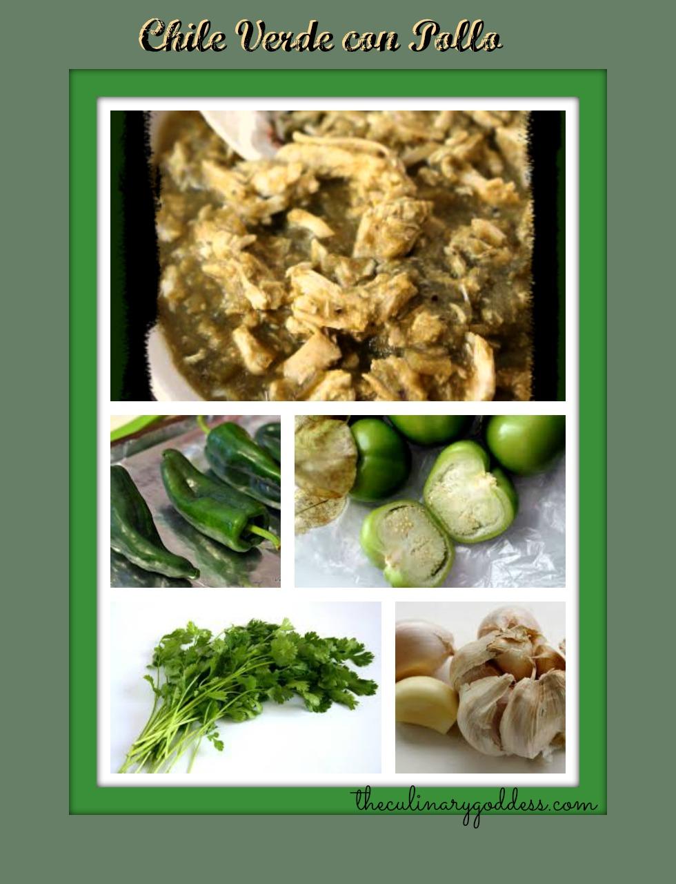 Chili Verde con Pollo (Chicken Chili Verde) slow cooker – Saturday ...