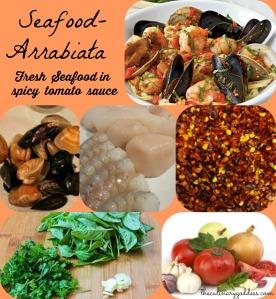 Seafood Arribiata