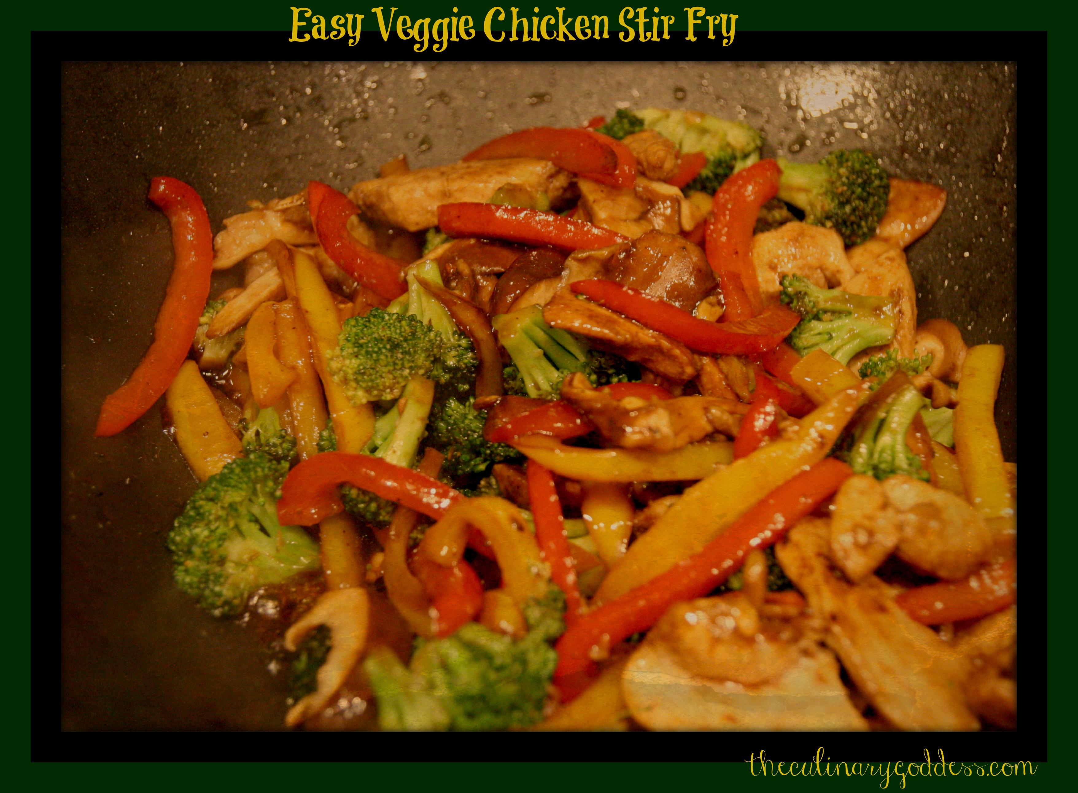 Easy Chicken Stir-Fry Recipes — Dishmaps
